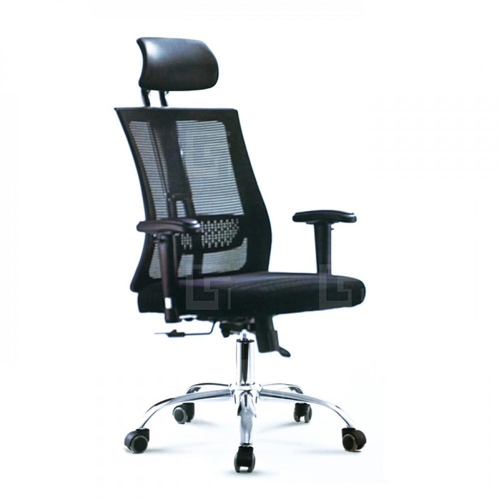 高背網布辦公椅A
