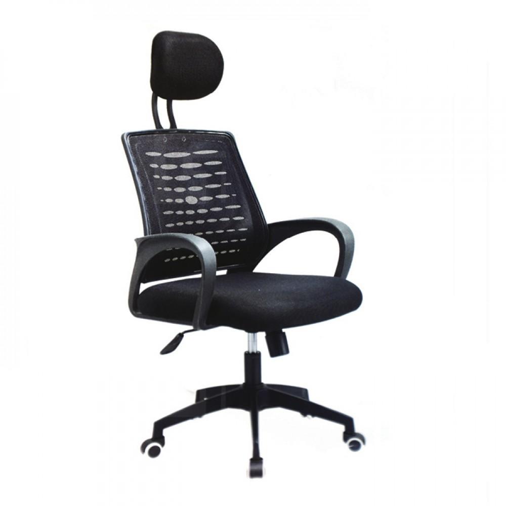 高背網布辦公椅C