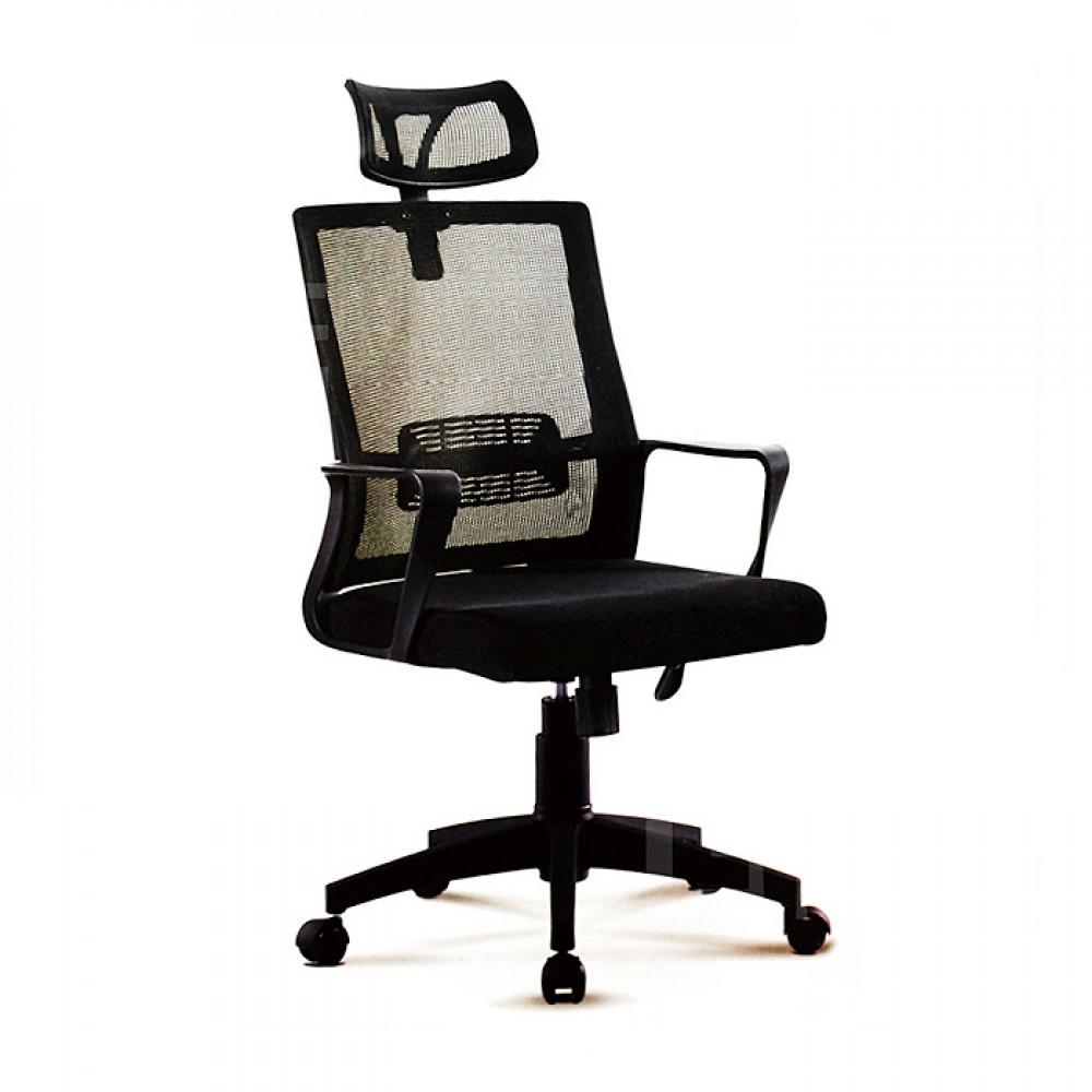 高背網布辦公椅D