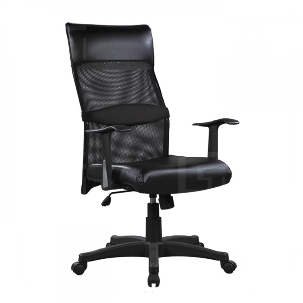 高背網布辦公椅H