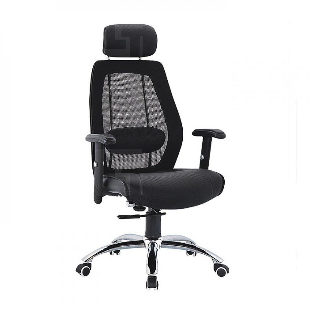 高背網布辦公椅J