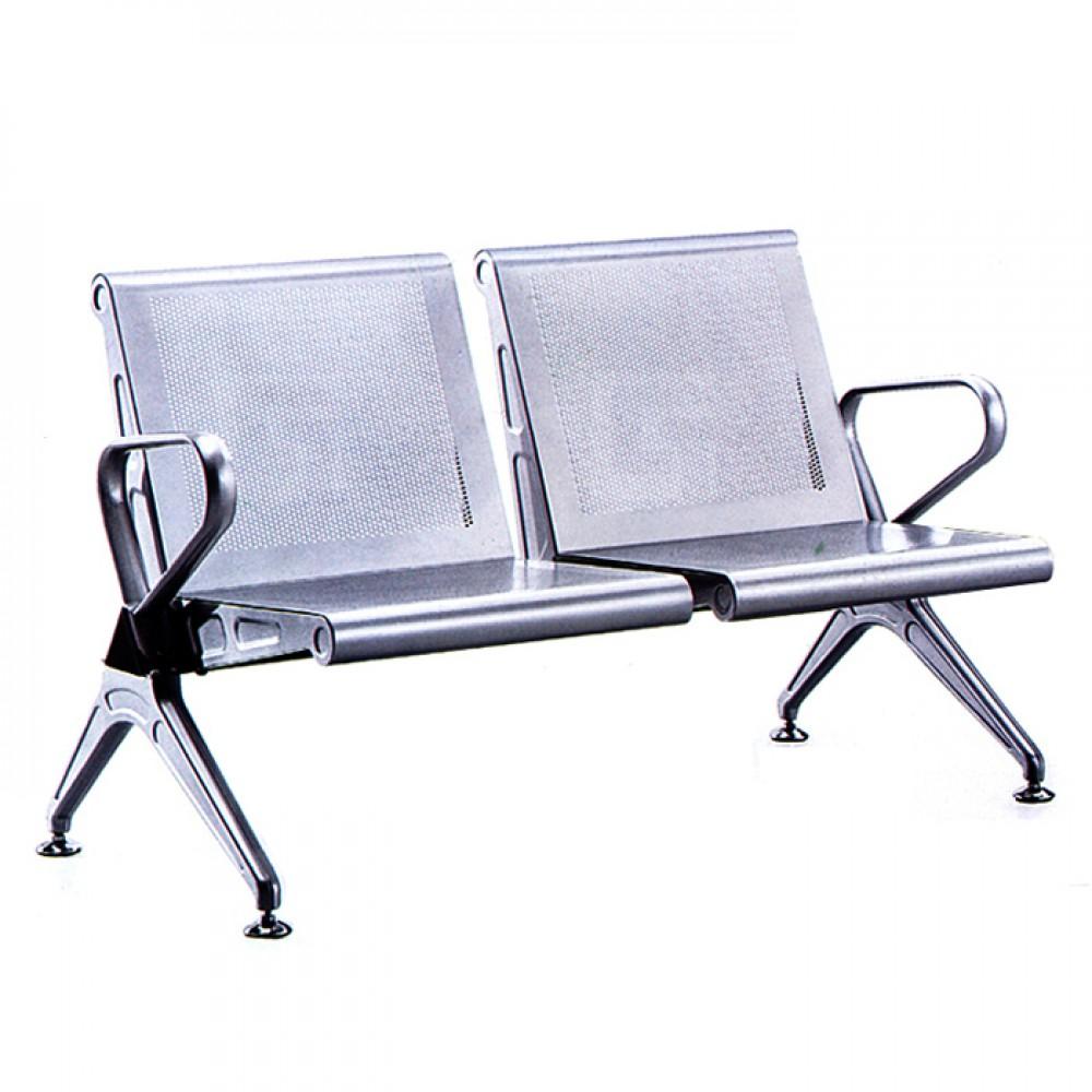 不鏽鋼網面機場椅(二人/三人/四人)