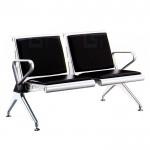 皮面軟墊不鏽鋼機場椅(二人/三人/四人)