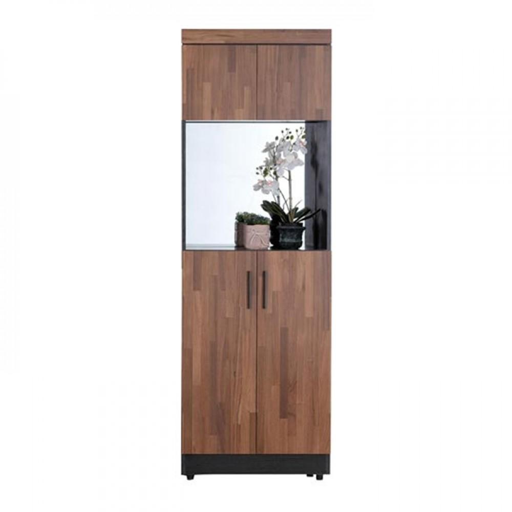 尚恩2X7尺中空鏡面高鞋櫃(積層木/原切橡木/白雪杉)
