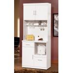 祖迪白色2.7尺單門餐櫃