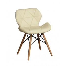 思麗餐椅(紅/黑/黃/米白)