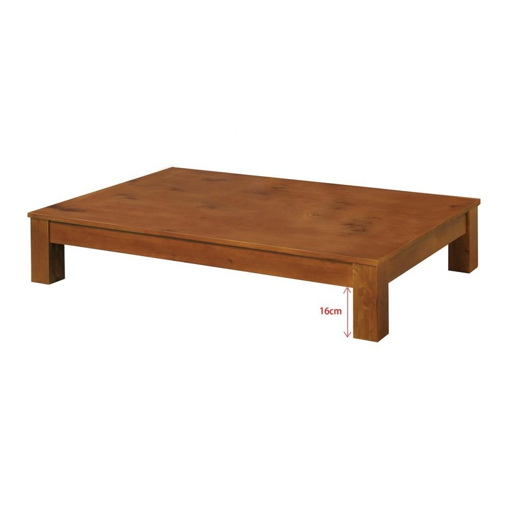 柏格實木3.5尺床底