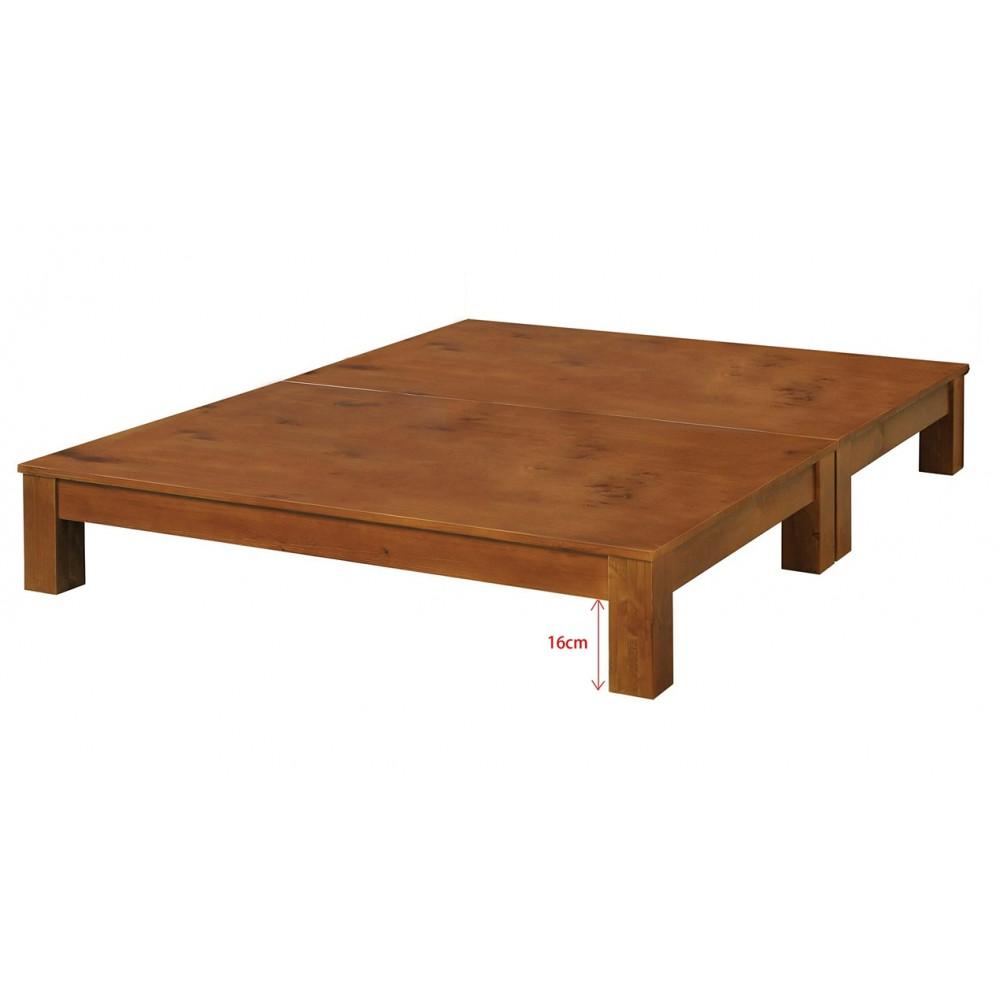 柏格實木床底(5尺/6尺)