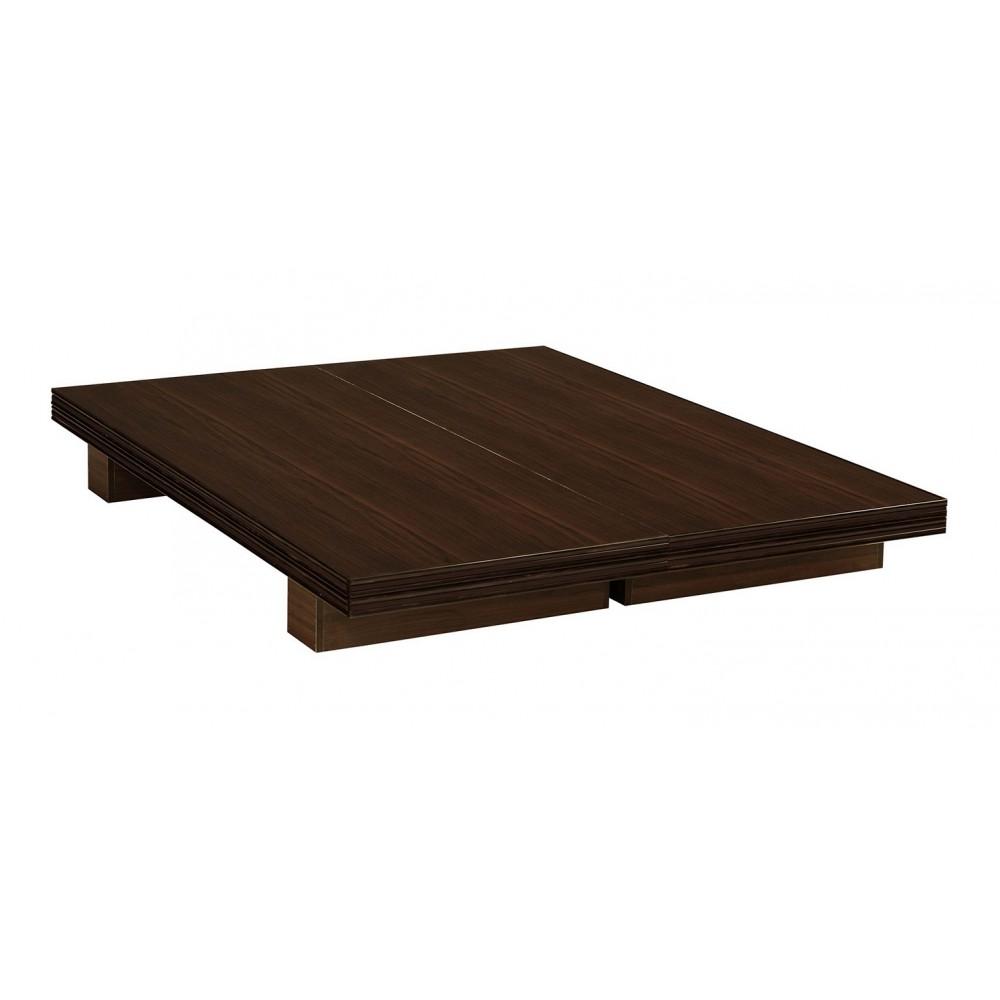 日式5尺床底(白色/胡桃木色)