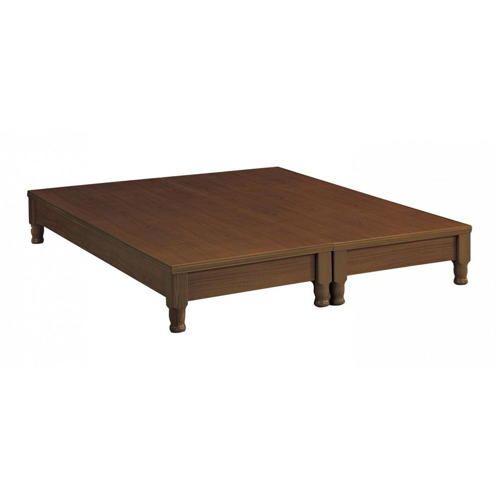 雙人高腳型床底(樟木/白橡木/胡桃木)(5尺/6尺)