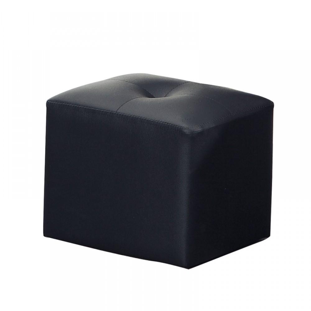 黑色皮沙發椅凳