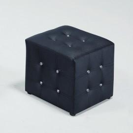 合成皮水鑽小椅凳(紅/黑/咖啡)