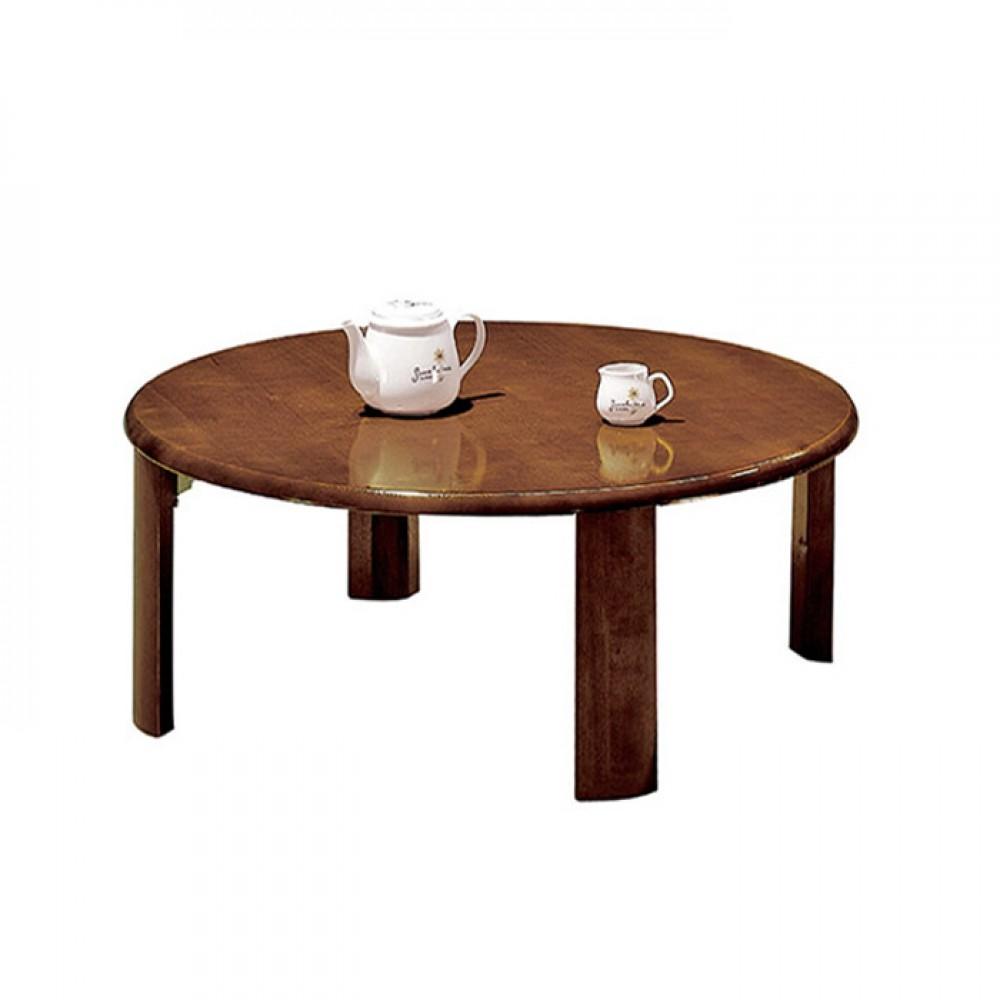 75cm圓扇形腳和室桌(可折腳)
