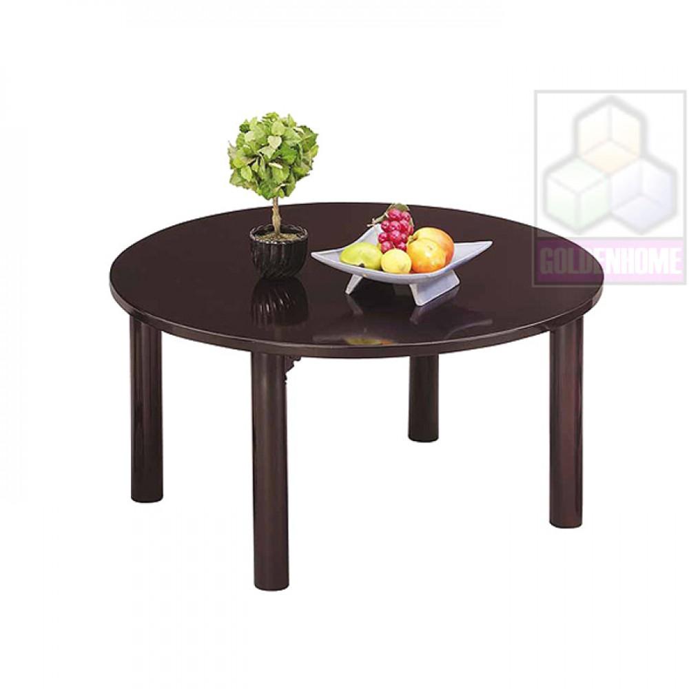 日式75cm圓型折腳和室桌