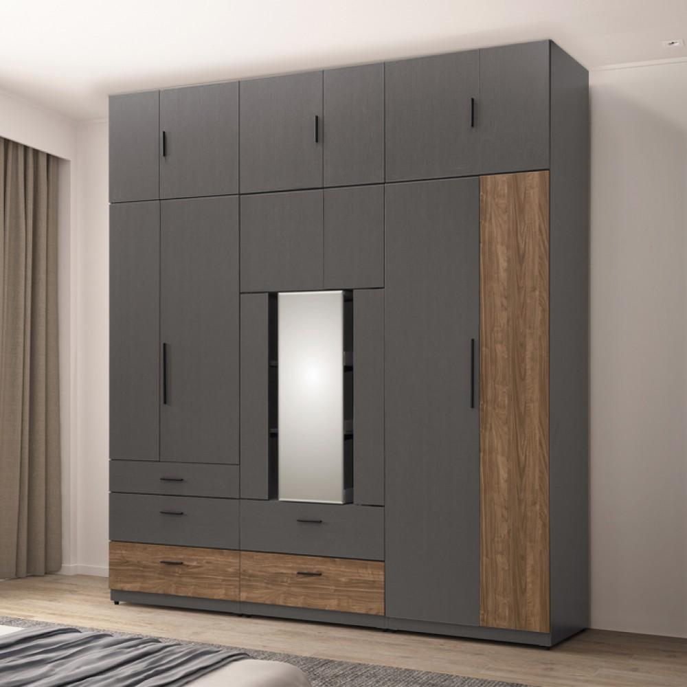 里昂7.5尺組合高衣櫃
