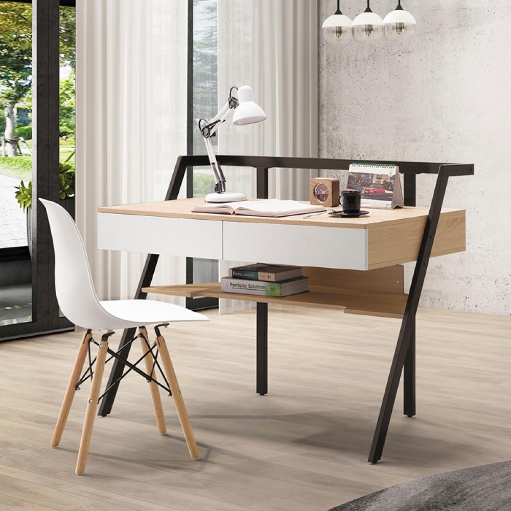 索爾4尺黑腳造型書桌
