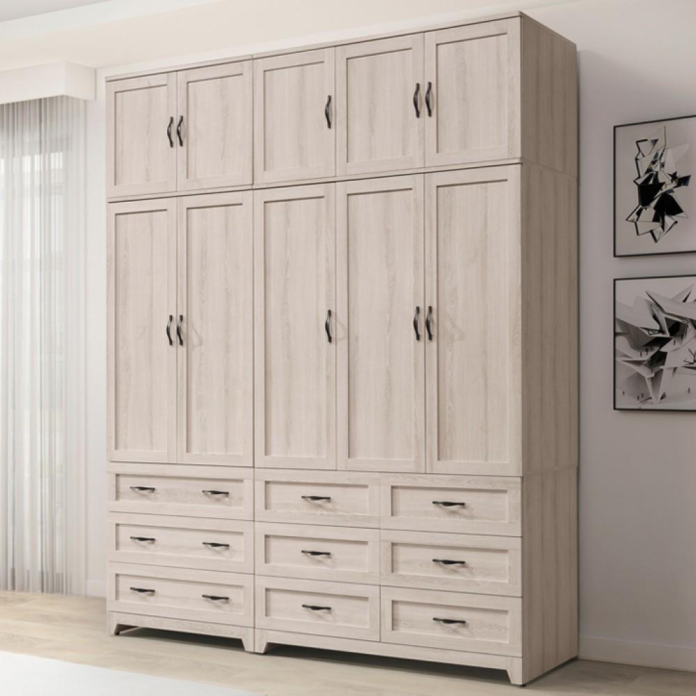 潔西6.6尺組合高衣櫥