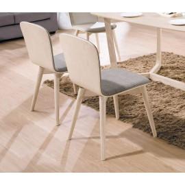 喬克布餐椅(淺胡桃/白橡)