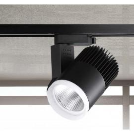 #0422-COB LED黑色軌道燈20W
