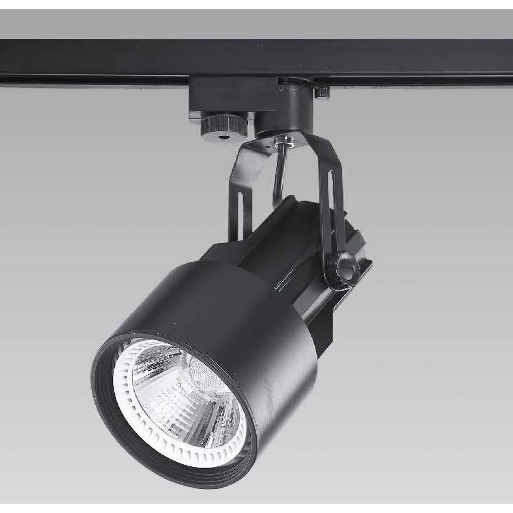 #0424-E27 LED黑色軌道燈16W