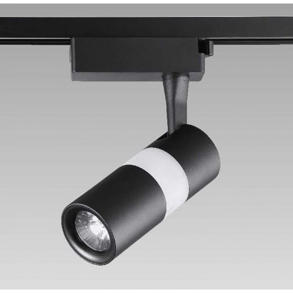 #0425-COB LED黑色軌道燈15W