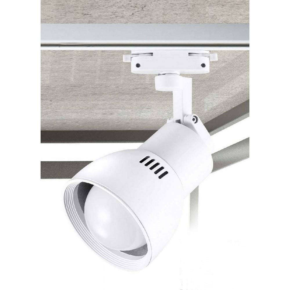 #0522-E27 LED白色軌道燈16W