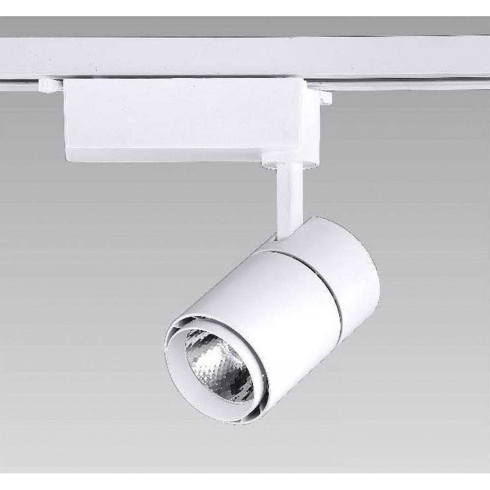 #0525-COB LED白色軌道燈12W