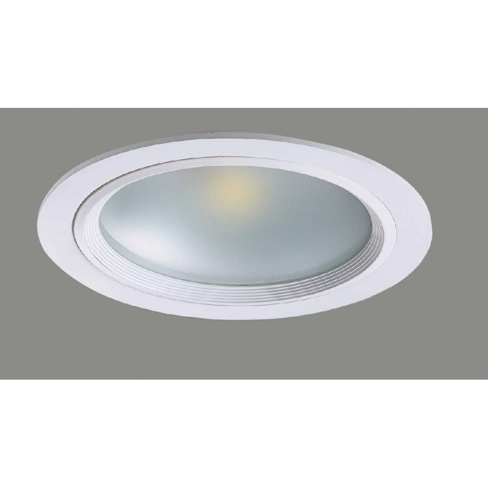 #1221鋁擠型LED白色嵌燈(孔Ø205)