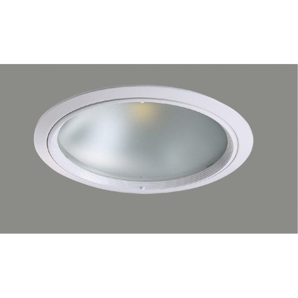 #1222鋁擠型LED白色嵌燈(孔Ø180)