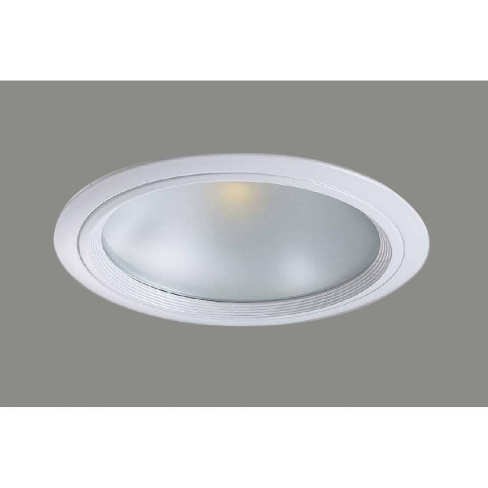 #1223鋁擠型LED白色嵌燈(孔Ø150)