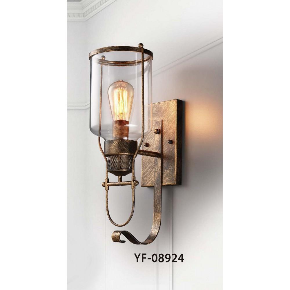 #8924復古風古銅色單盞式壁燈