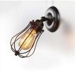 #8926復古風黑色單盞式壁燈