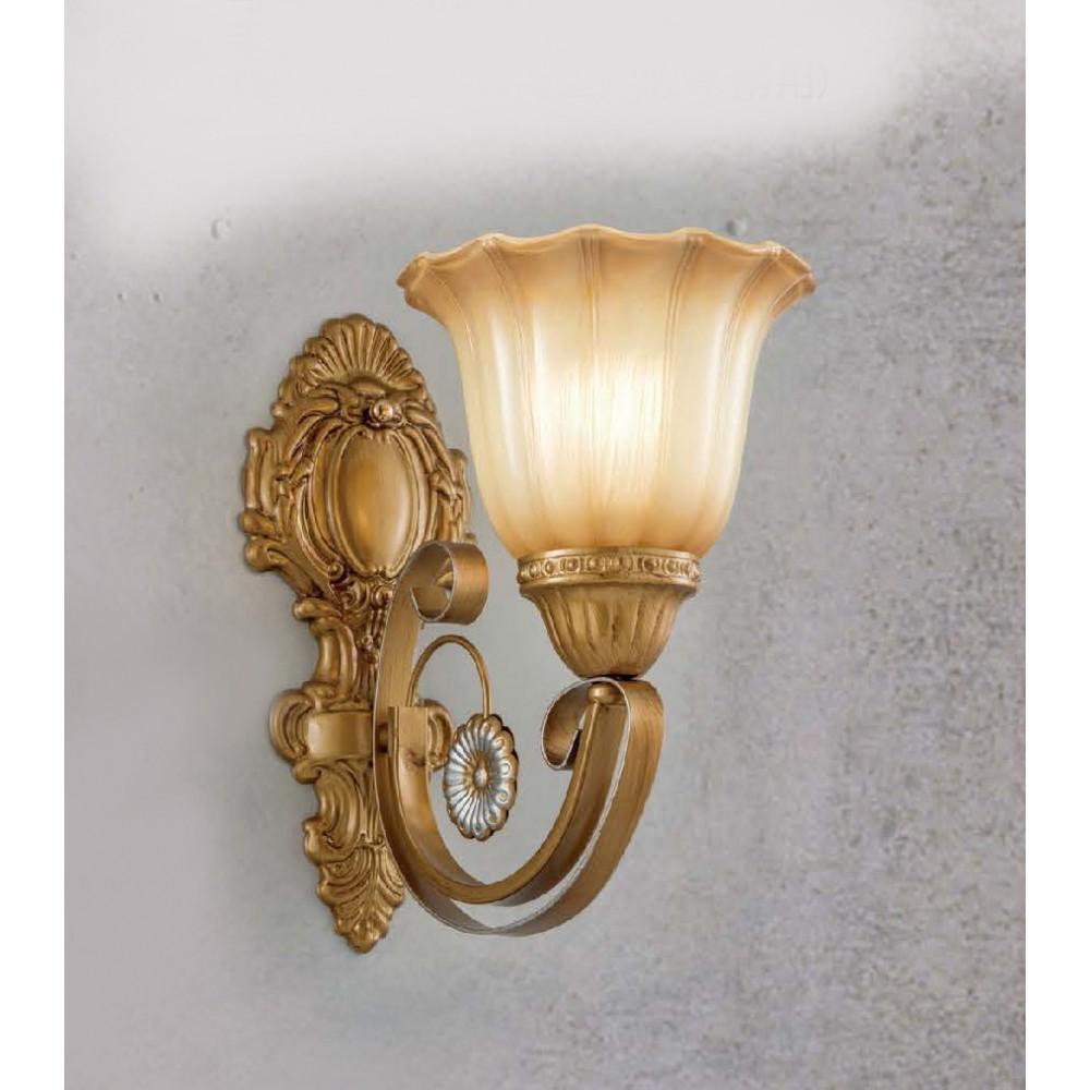 #11225古典風古銅色單盞式壁燈