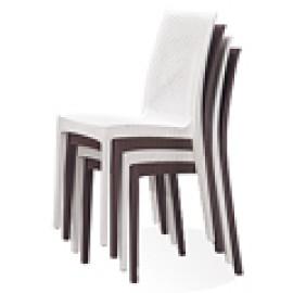 塑膠椅面|可堆疊|折疊收納餐椅 (77)