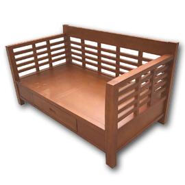 木板椅|原木沙發椅組 (32)