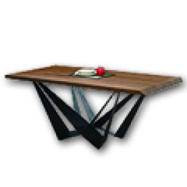 實木面餐桌 (164)