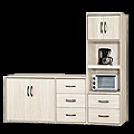 淺木紋色餐櫃 (46)