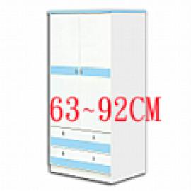 3尺塑鋼衣櫃 (0)
