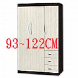 4尺塑鋼衣櫃 (0)