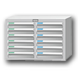 文件資料分類整理盒|塑鋼檔案櫃 (51)